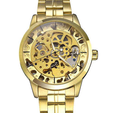 Watch - Golden Skeleton