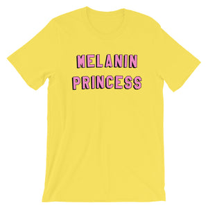 Melanin Princess Short-Sleeve Unisex Tee