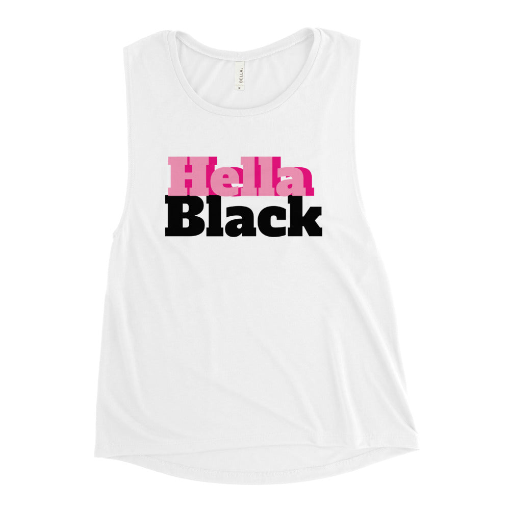 Hella Black Ladies' Muscle Tank