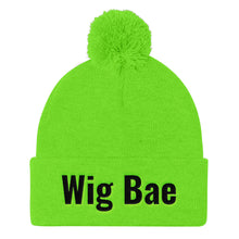 Load image into Gallery viewer, Wig Bae Pom Pom Knit Cap