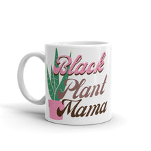 Load image into Gallery viewer, Black Plant Mama Mug