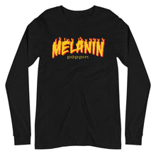 Load image into Gallery viewer, Melanin Poppin Unisex Long Sleeve Tee