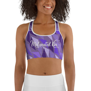 Bantu Sports bra - Purple