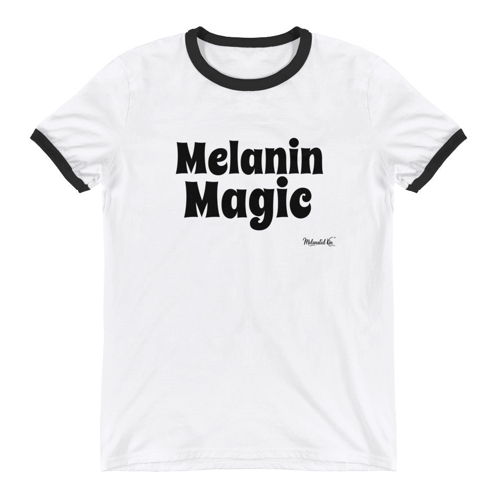 Melanin Magic Ringer T-Shirt