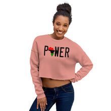 Load image into Gallery viewer, POWER Crop Sweatshirt