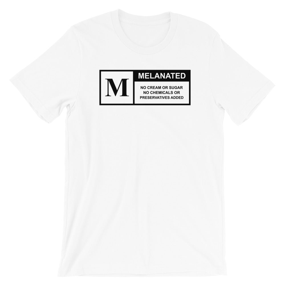 Rated Melanin Short-Sleeve Unisex Tee