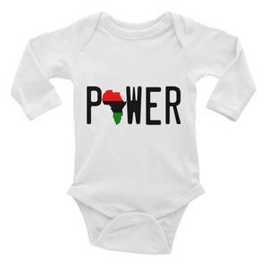 POWER Infant Long Sleeve Bodysuit