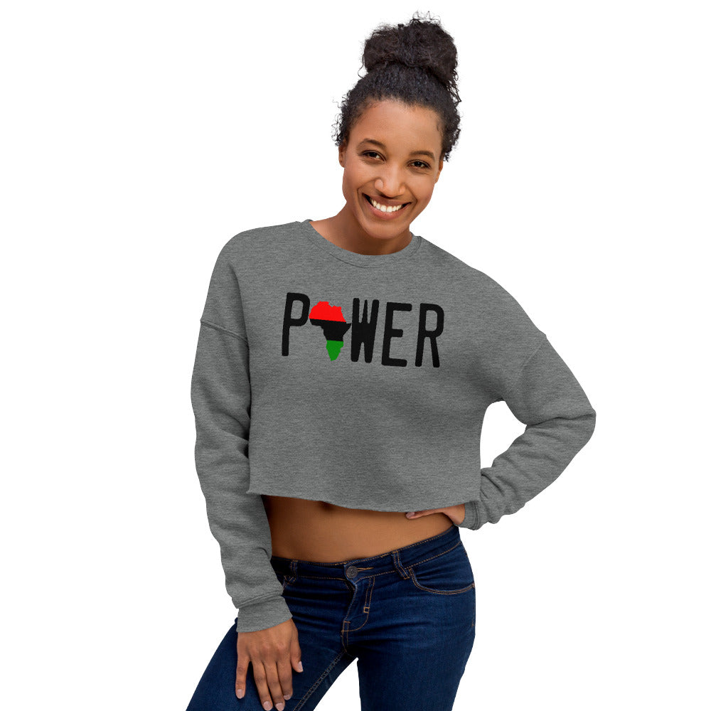 POWER Crop Sweatshirt