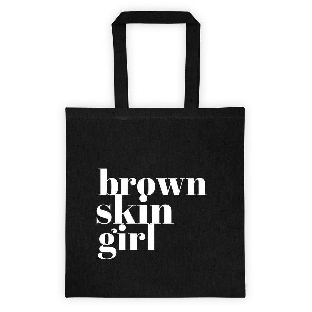 Brown Skin Girl Tote bag