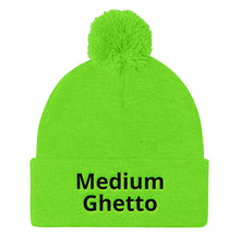 Load image into Gallery viewer, Medium Ghetto Pom Pom Knit Cap