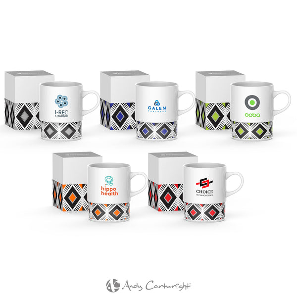 Andy Cartwright Geo Coffee Mug Corporate gifts