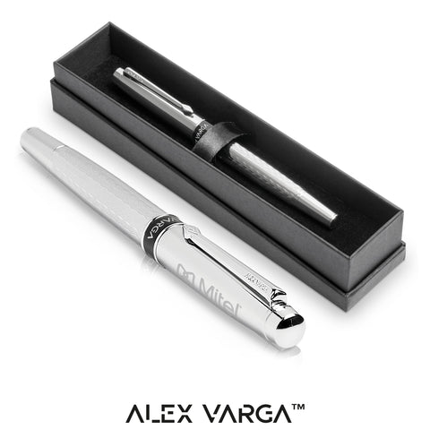 Alex Varga Cygnus Rollerball - Silver Only Corporate gifts