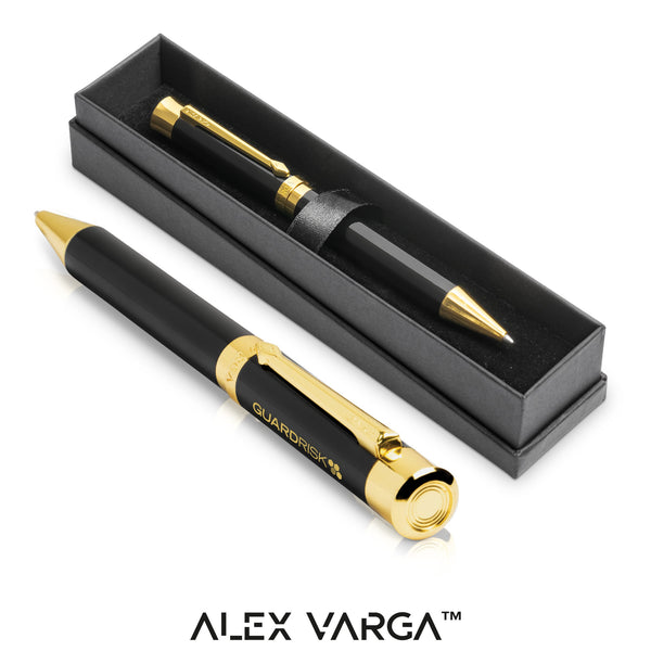 Alex Varga Corona Ball Pen - Black Only Corporate gifts
