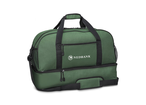 Maine Double-Decker Bag - Dark Green Only Corporate gifts