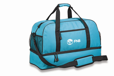 Maine Double-Decker Bag - Turquoise Only Corporate gifts