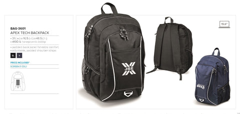 Apex Tech Backpack Corporate gifts