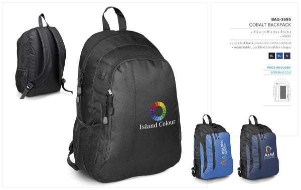 Cobalt Backpack Corporate gifts