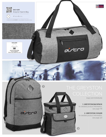 Greyston Sports Bag Corporate gifts