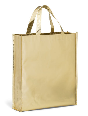 Non Woven Laminate Tote - Gold Corporate gifts