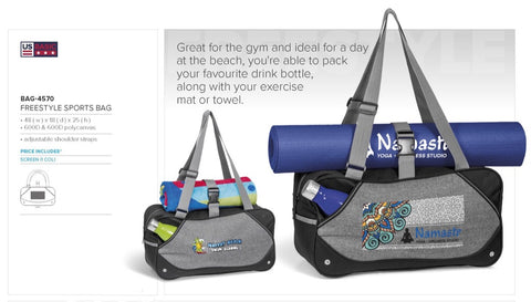 Freestyle Sports Bag Corporate gifts