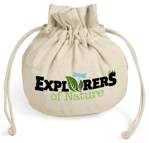 Green Springs Cotton Drawstring Pouch Corporate gifts
