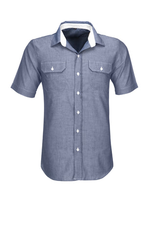 Mens Short Sleeve Windsor Shirt Corporate gifts