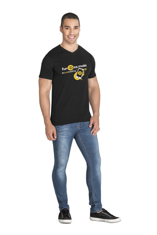 Mens Super Club 165 V-Neck T-Shirt Corporate gifts