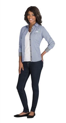 Ladies Long Sleeve Coventry Shirt Corporate gifts