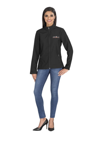 Ladies Pinnacle Softshell Jacket Corporate gifts