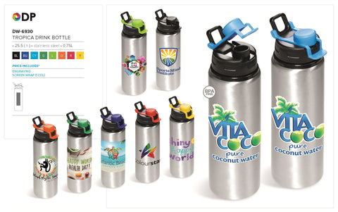 Tropica Water Bottle - 750ml Corporate gifts