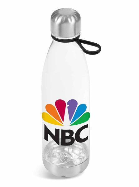 Clearview Water Bottle - 750ml - Black Only Corporate gifts
