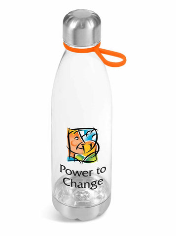 Clearview Water Bottle - 750ml - Orange Only Corporate gifts