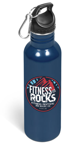 Ventura Screw Top Lid Drink Bottle - Navy Only Corporate gifts
