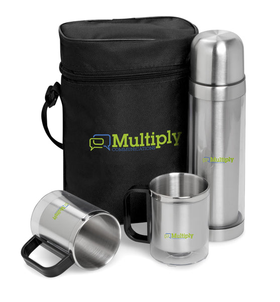 Admiral 500Ml Double-Wall Flask & Mug Set Corporate gifts