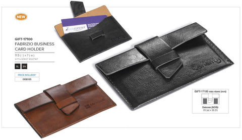 Fabrizio Business Card Holder Corporate gifts