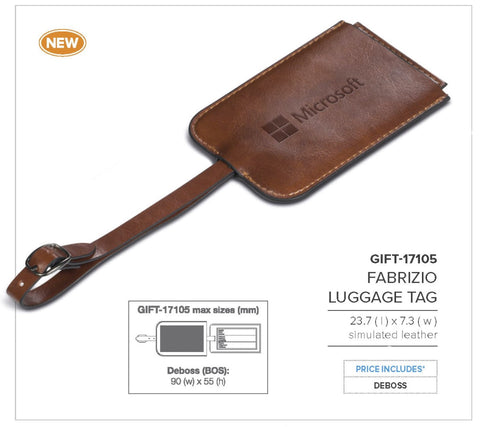 Fabrizio Luggage Tag Corporate gifts