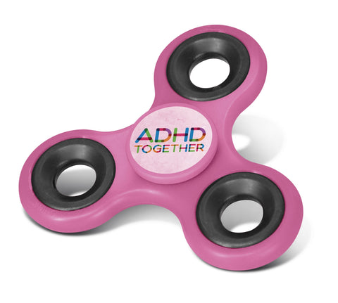Fidget Spinner - Pink Only Corporate gifts