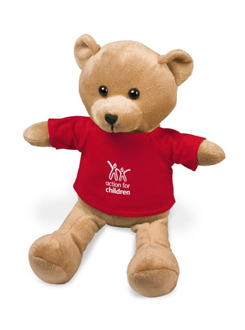 Cuddles Plush Toy - Red Only Corporate gifts