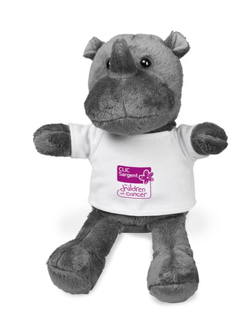 Rocky Plush Toy - Solid White Only Corporate gifts