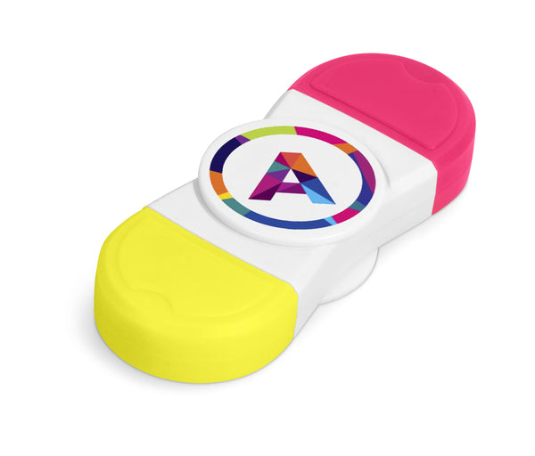 Duo Spinner Highlighter Corporate gifts