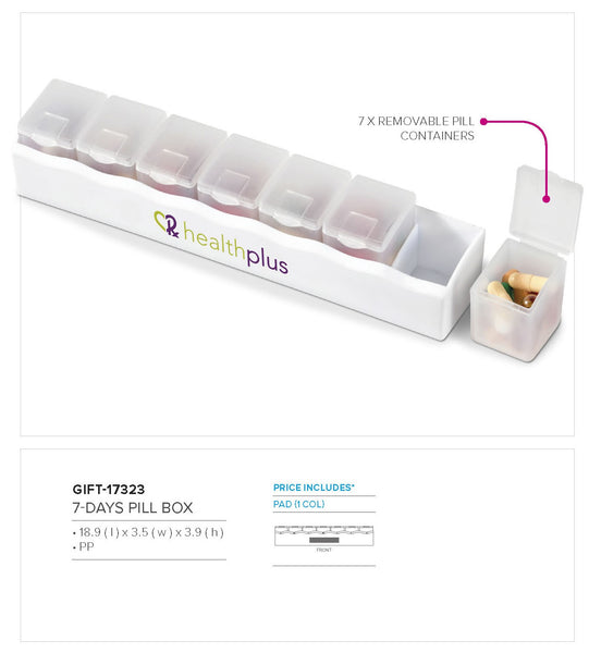 7-Days Pill Box Corporate gifts