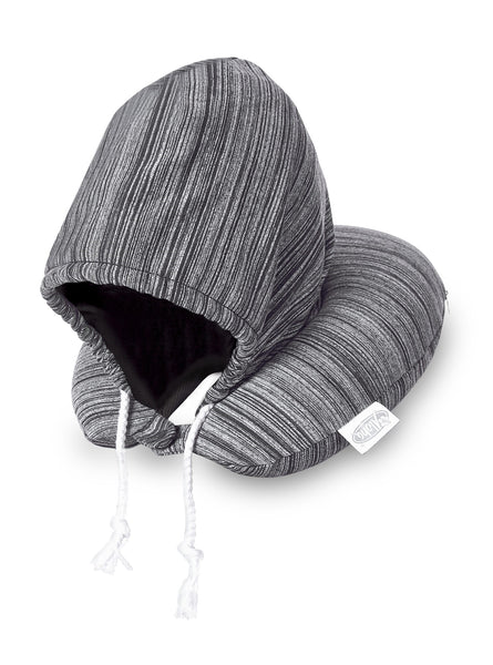 Aloha Hoody Neck Pillow - Black Only Corporate gifts