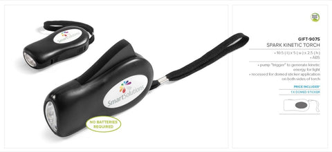 Spark Kinetic Torch Corporate gifts
