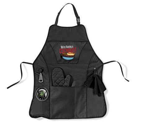 Cookout Bbq Apron - Black Only Corporate gifts