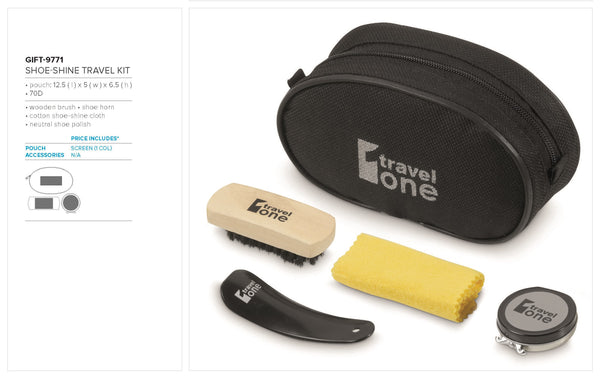 Shoe-Shine Travel Kit Corporate gifts