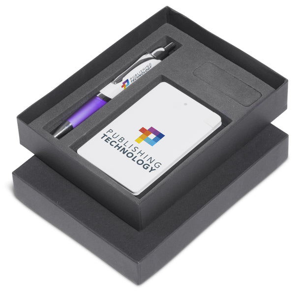 Energyblast One Gift Set - Purple Corporate gifts