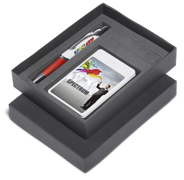 Energyblast One Gift Set - Red Only Corporate gifts
