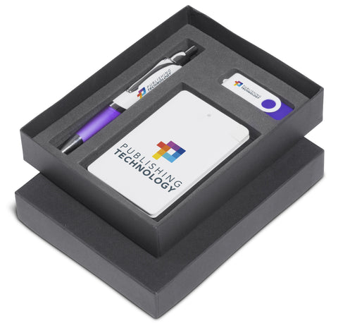 Energyblast Two Gift Set- Purple Only Corporate gifts