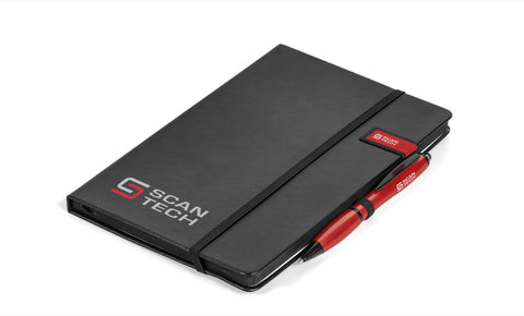Century Usb Notebook Gift Set- Red Only Corporate gifts