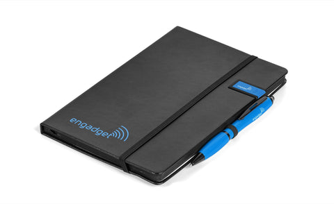 Century Usb Notebook Gift Set- Turquoise Only Corporate gifts